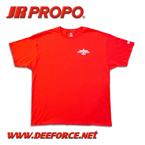 JR PROPO Air Plane T-Shirt Red
