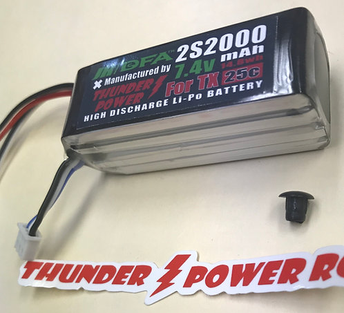 Transmitter BATTERY Li-Po 2000MAH 2S2000 for T44, XG11