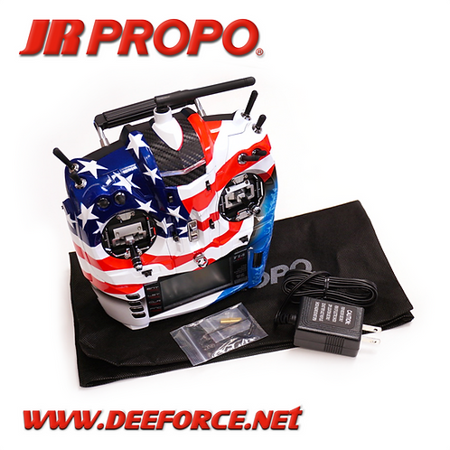 T14 x 4 Custom Paint With Ultimate CNC Machined Gimbals USA Flag V.1