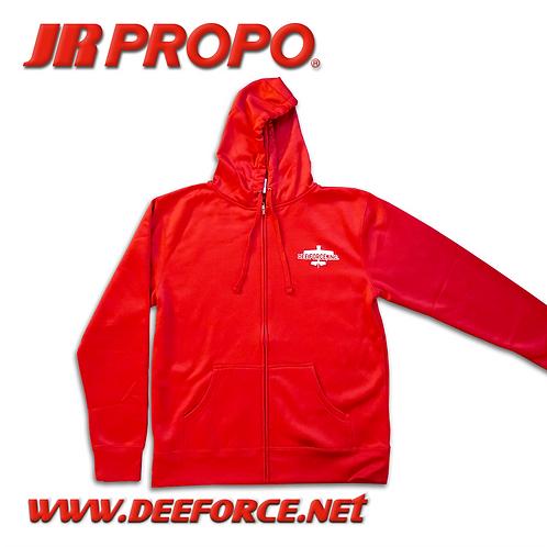 JR PROPO Air Plane Hoodie Red