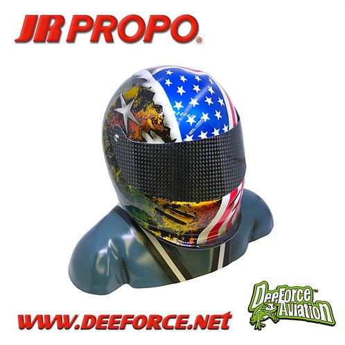 35% Pilot Figure : American Flag/Gold/White Star