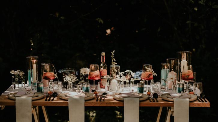 Italian Feast Inspired Tablescape