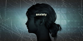 Woman Facing Anxiety as a Personal Chall