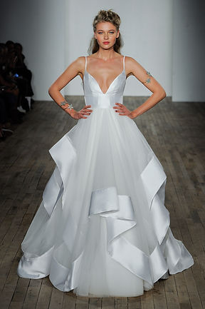 Hayley Paige ivory wedding dress