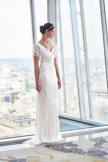 Eliza Jane Howell dress with embellishments hand made