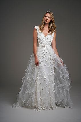 Eliza Jane Howell lace wedding dress