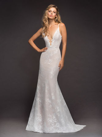 Hayley Paige spring bridal dress lace fishtail