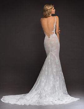 Hayley Paige open back lace wedding dress
