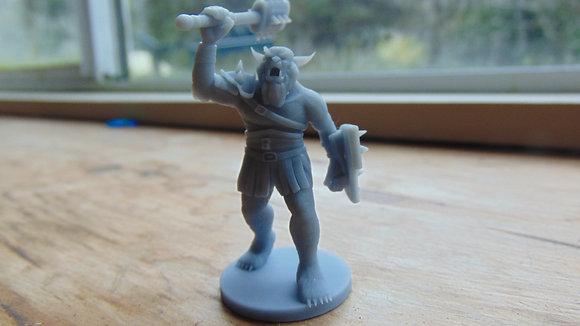 D&D Miniature Bugbear Chief