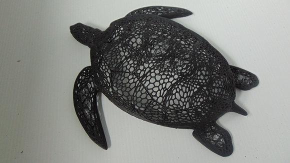 Wall-mounted Voronoi Style Turtle