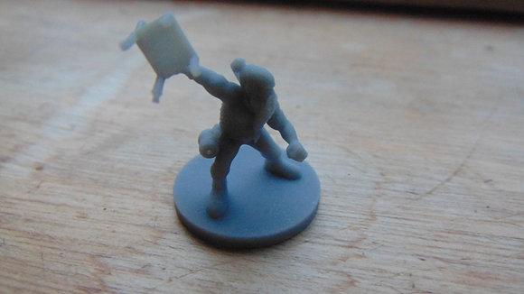 D&D Miniature Fighting Dwarf
