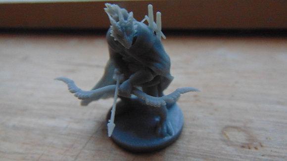 D&D Miniature Dragonborn Ranger
