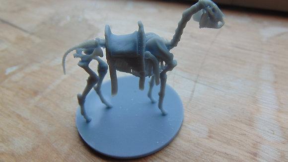 D&D Miniature Skeleton Horse
