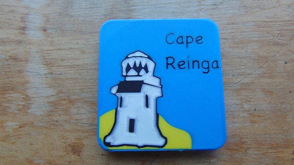 Cape Reinga Fridge Magnet