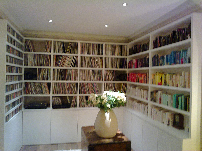 CD's vinyl and print_