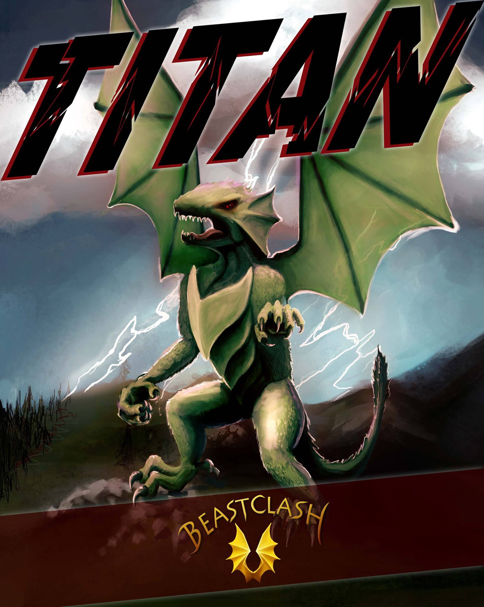 TITAN POSTER/ARTWORK