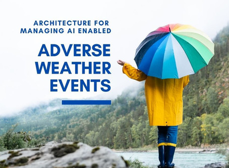 Architecture Deconstruction of AI enabled Adverse Weather Events System for Utilities