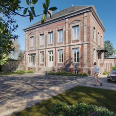Refurbishment and change of use of a small Château