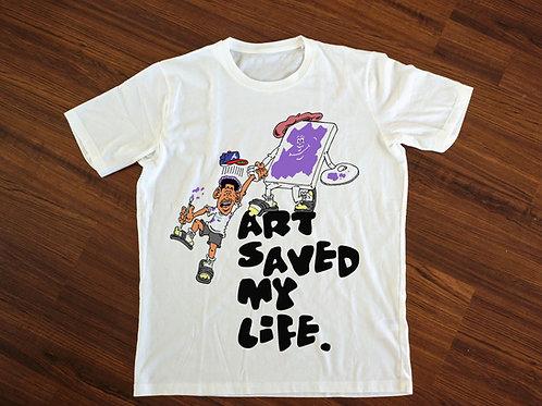 Art Saved My Life (Vol.2) | T-Shirt
