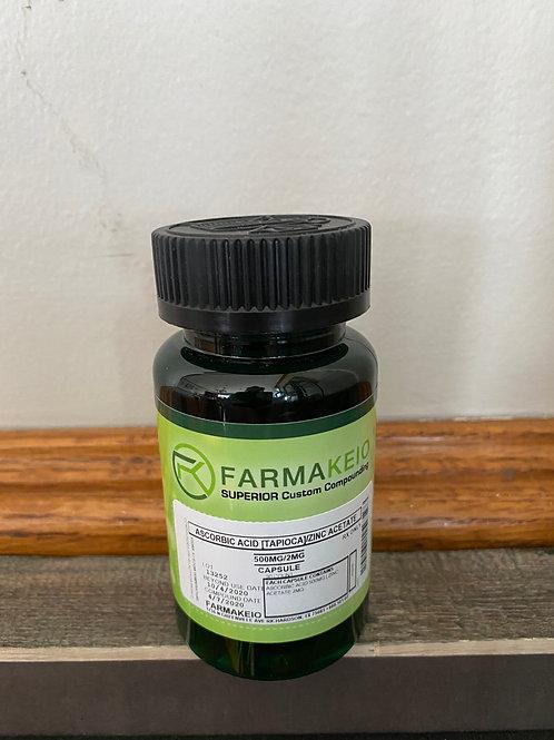 Vitamin C 500mg & Zinc 5 mg Capsules