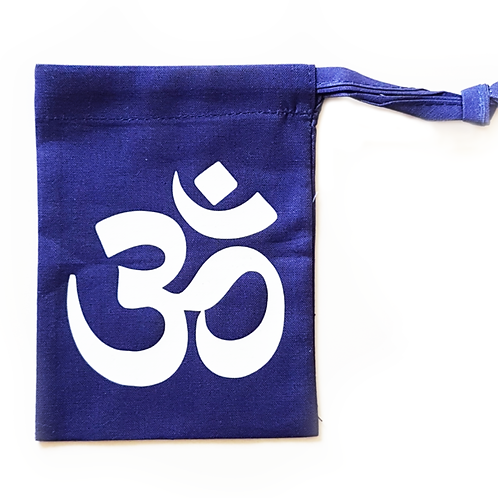 Om Crystal Pouch