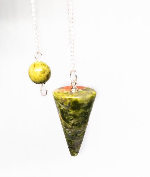 Unakite Pendulum