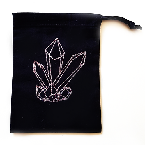 Glitter Crystal Tarot Bag