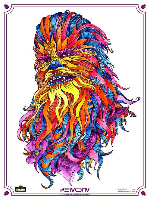 Chewie - 2019 Star Wars Celebration Chicago Art Print