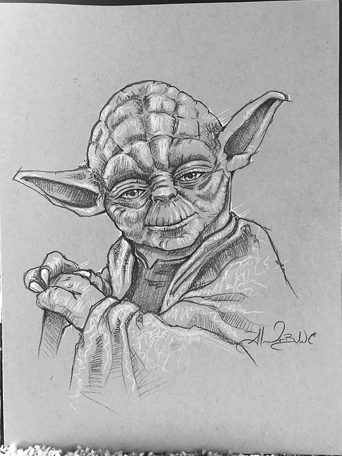Yoda Sketch from SWC