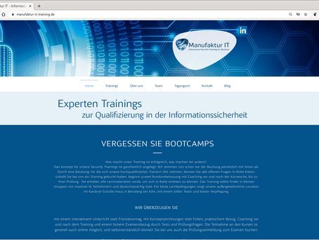 Web-Site: Relaunch