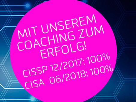 100% im ersten Versuch bestanden: Mit Coaching zum Erfolg!