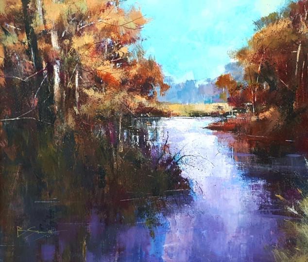 Brendan Smith- Autumn on the River