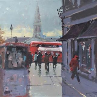 Towards Trafalgar Square