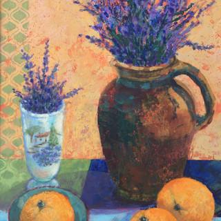 Lavender & Orange