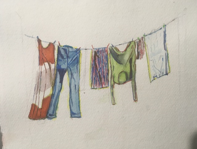 A washing line