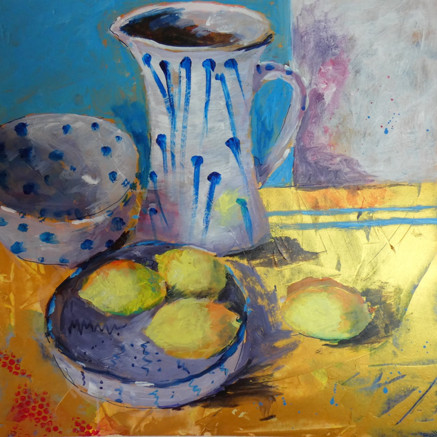 Pottery and Lemons