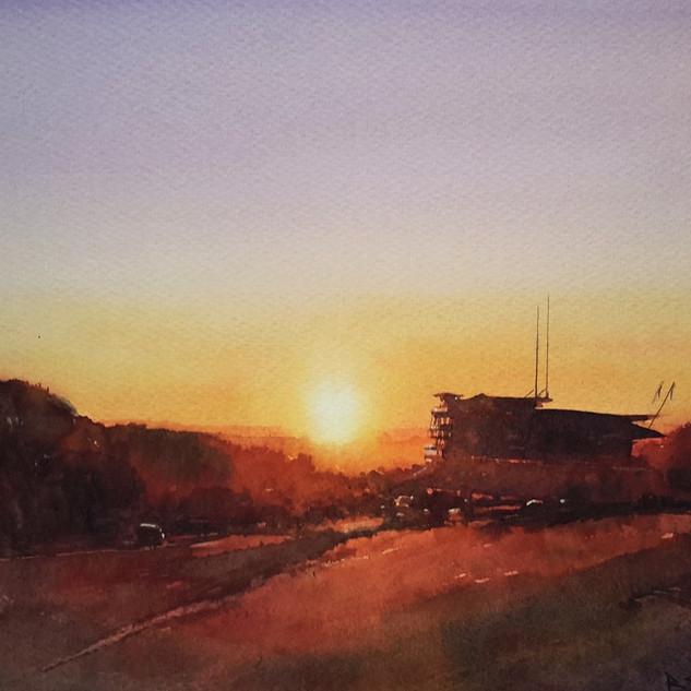 Epsom Downs Sunset