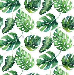 seamless-watercolor-pattern-of-tropical-
