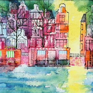 SH03 Amsterdam Watercolour & acrylic ink