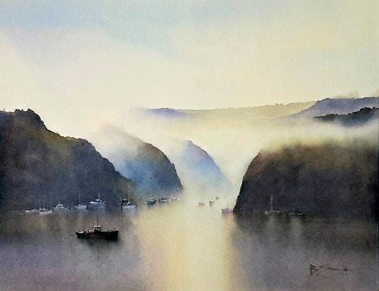 Morning Mist, Pont Pill