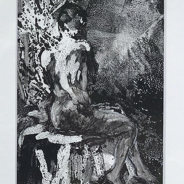 Nude Monoprint