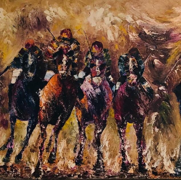 Racing Horseman