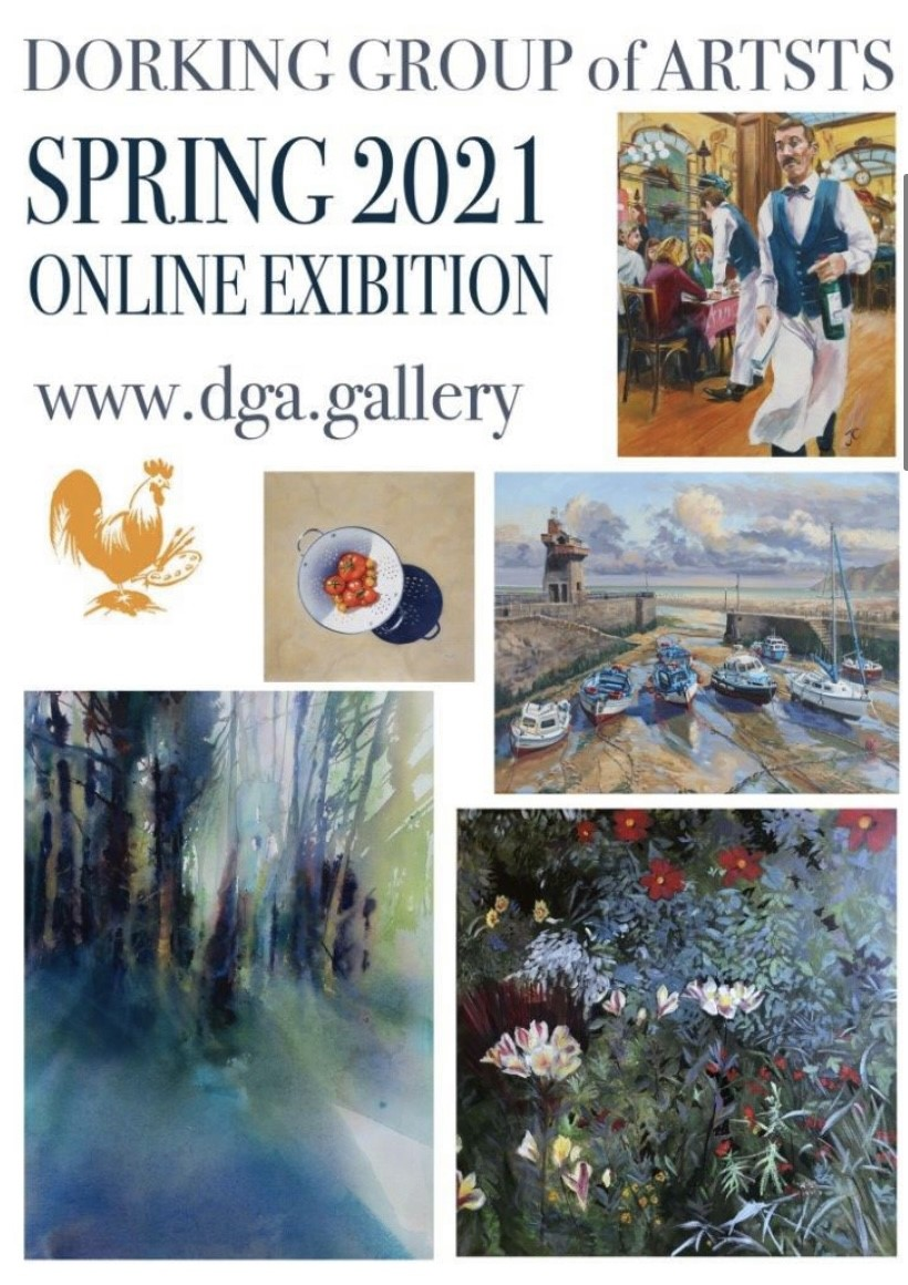 The Dorking Group of Artists Spring Onli