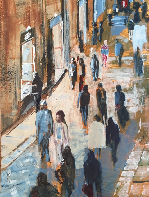 Joe Norris- La Passagiata,Lecce