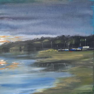 First Light over the Boatyard