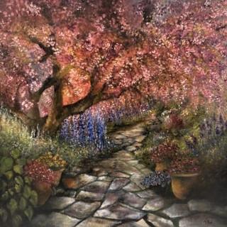TO10-Cherry Blossom-oil-49x49-£190-2.jpg