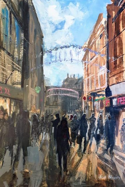 Joe Norris- Shopping, Amsterdam