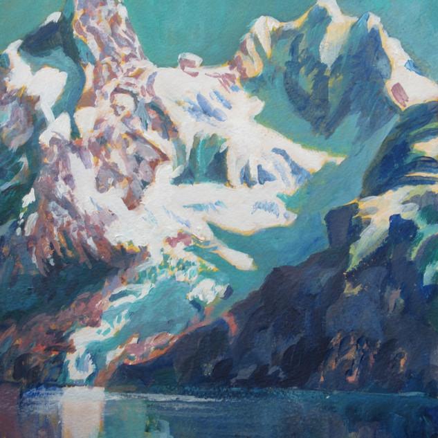 Glacier Blues Patagonia