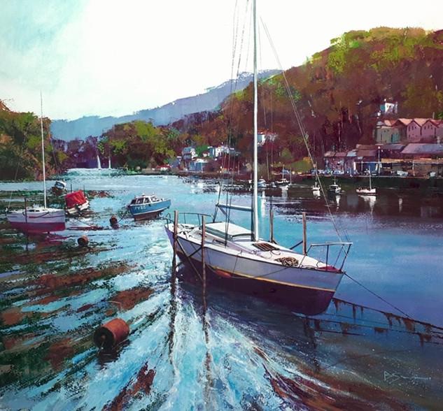 Brendan Smith- Up River, Looe