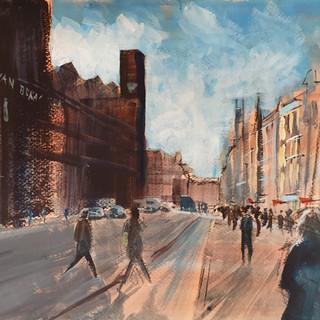 Joe Norris- Street Scene- Amsterdam